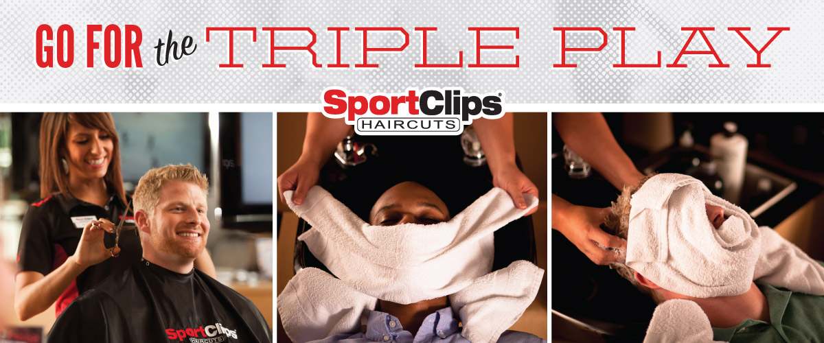 The Sport Clips Haircuts of South Elgin Triple Play